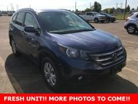 CARFAX One-Owner. CR-V EX-L, 4D Sport Utility, 2.4L I4