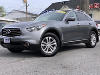 2012 INFINITI FX35 Base AWD, graphite Leather, ABS