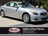 This 2012 INFINITI G37 Coupe Journey comes