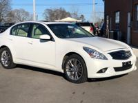 Moonlight White 2012 INFINITI G37 X AWD, Wheat