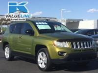 New Price!Recent Arrival!2012 Jeep Compass Sport 4D