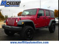 Maroon 2012 Jeep Wrangler Unlimited Rubicon 4WD 6-Speed
