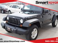 Black Clearcoat 2012 Jeep Wrangler Unlimited Rubicon