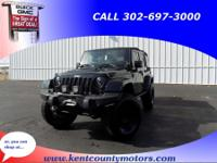 Black 2012 Jeep Wrangler Unlimited Rubicon 5-Speed