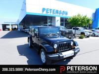 Black 2012 Jeep Wrangler Unlimited Sahara 4WD 6-Speed