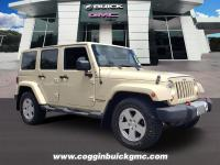 Tan 2012 Jeep Wrangler Unlimited Sahara4WD 5-Speed