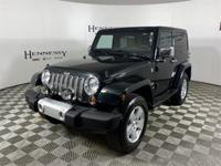 2012 Jeep Wrangler Sahara Factory Leather Seating,