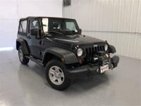 Black Clearcoat 2012 Jeep Wrangler Sport 4WD 6-Speed
