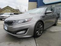 2012 Kia Optima SX black Leather, Back-Up Camera,