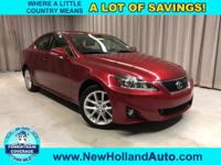 New Price! Matador Red Mica 2012 Lexus IS 250 AWD
