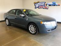 2012 Lincoln MKZ, 4Dr Sedan, AWD, Duratec 3.5L V6 DOHC
