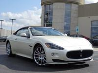 This 2012 Maserati GranTurismo Convertible Sport is
