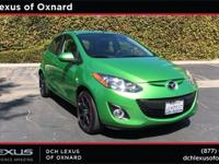 Clean CARFAX. Spirited Green Metallic 2012 Mazda Mazda2