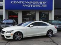 2012 Mercedes-Benz CLS CLS 63 AMG White Odometer is