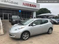 We are excited to offer this 2012 Nissan LEAF. This