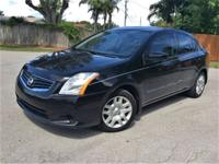 2012 NISSAN SENTRA 2.0S. CALL   THANKS. CLEAN TITLE,