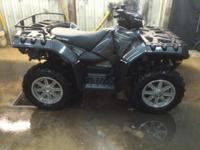 USED POLARIS SPORTSMAN XP 850 EPS- $6200.00 11OO MILES.