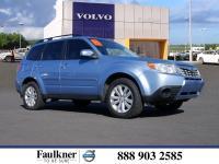 Sky Blue Metallic 2012 Subaru Forester 2.5X Premium AWD