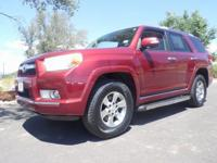 Red 2012 Toyota 4Runner 4WD 5-Speed Automatic with