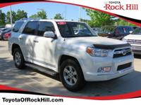 We are excited to offer this 2012 Toyota 4Runner. When