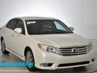 This 2012 Toyota Avalon Limited in Classic Silver