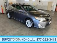 This 2012 Toyota Camry XLE is proudly offered by Servco
