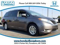 CARFAX One-Owner. Clean CARFAX. Gray 2012 Toyota Sienna