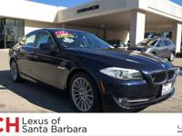 CARFAX 1-Owner, ONLY 54,301 Miles! 535i trim. EPA 30