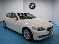 2013 BMW 5 Series 535i xDrive Alpine WhiteAWD, Venetian