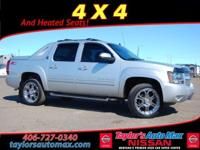LEATHER INTERIOR, Avalanche 1500 LT, 4D Crew Cab,