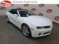 Summit White 2013 Chevrolet Camaro 2LT 2LT RWD 6-Speed