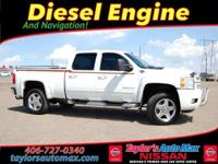 LOCAL TRADE IN, LEATHER INTERIOR, Silverado 2500HD LTZ,