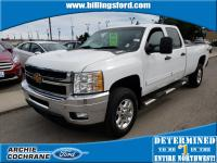 Summit White 2013 Chevrolet Silverado 3500HD LT 4WD