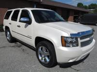 2013 CHEVY TAHOE LTZ. PW,PL,POWER HEATED/VENTED SEATS,