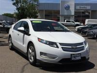 New Price! Summit White 2013 Chevrolet Volt FWD Single