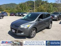 Black 2013 Ford Escape SEL AWD 6-Speed Automatic
