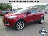 2013 Ford Escape Titanium AWD, Ruby Red Tinted