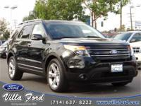 2013 Ford Explorer Limited. Sticker Price: $34992. Body