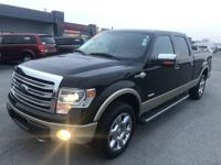 This 2013 Ford F150 King Ranch Super Crew is as nice as