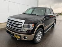 2013 Ford F-150 4WD.Priced below KBB Fair Purchase