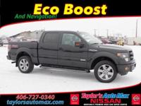 LEATHER INTERIOR, F-150 FX4, 4D SuperCrew, EcoBoost