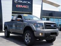 2013 FORD F-150 FX4 SUPERCREW! LEVEL KIT AND AGGRESSIVE