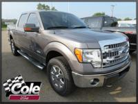 Gray 2013 Ford F-150 XLT 4WD 6-Speed Automatic