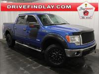 New Price! 2013 Ford F-150 XLT 302A LIFTED! Blue
