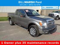 2013 Ford F-150 XLT 4WD. 1 Owner No accident well