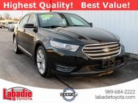 2013 Ford Taurus SEL Black Clean CARFAX. Back Up