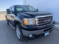 2013 GMC Sierra 2500HD SLT 4X4, Running Boards, One