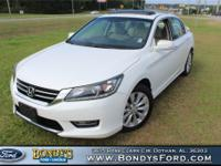 White Orchid Pearl 2013 Honda Accord EX-L FWD 6-Speed