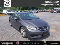 CARFAX One-Owner. Clean CARFAX. 2013 Honda Civic LX