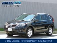 You'll love the way you feel in our 2013 Honda CR-V